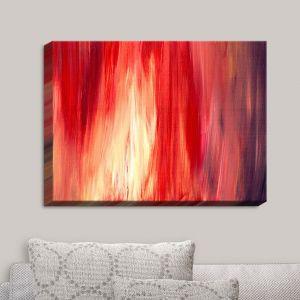 Decorative Canvas Wall Art | Julia Di Sano - Irradiated Red