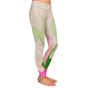 Casual Comfortable Leggings | Julia Di Sano - Mermaid Nap Gray