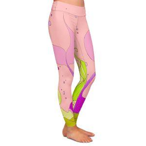 Casual Comfortable Leggings | Julia Di Sano - Mermaid Nap Pink