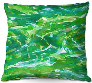 Throw Pillows Decorative Artistic | Julia Di Sano - Motley Flow IV