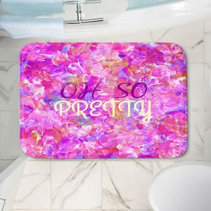 Decorative Bathroom Mats | Julia Di Sano - Oh So Pretty