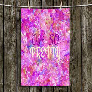 Unique Hanging Tea Towels | Julia Di Sano - Oh So Pretty | Inspiring Feminine Typography
