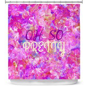 Premium Shower Curtains | Julia Di Sano - Oh So Pretty