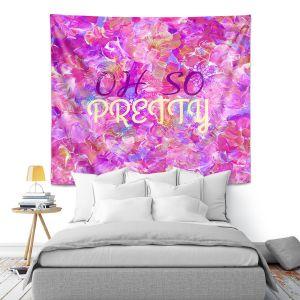 Artistic Wall Tapestry | Julia Di Sano - Oh So Pretty