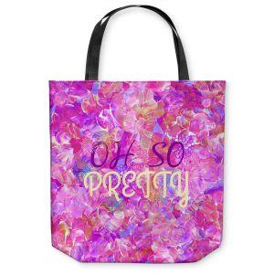 Unique Shoulder Bag Tote Bags | Julia Di Sano - Oh So Pretty