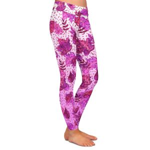 Casual Comfortable Leggings | Julia Di Sano - Ombre Autumn Purple Pink