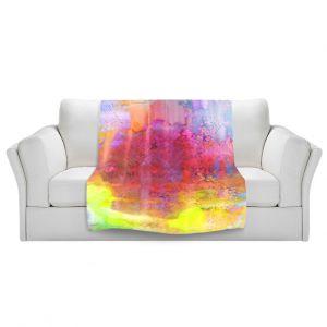 Artistic Sherpa Pile Blankets | Julia Di Sano Pastel Creations II
