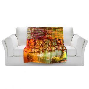 Artistic Sherpa Pile Blankets | Julia Di Sano Pearl String Colors II