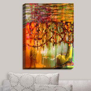 Decorative Canvas Wall Art   Julia Di Sano - Pearl String Colors II