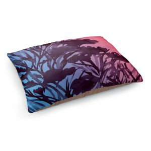 Decorative Dog Pet Beds | Julia Di Sano - Petal Thoughts Pink Blue