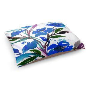 Decorative Dog Pet Beds | Julia Di Sano - Pocketful Posies Blue