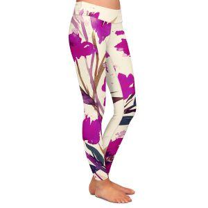 Casual Comfortable Leggings | Julia Di Sano - Pocketful Posies Pink