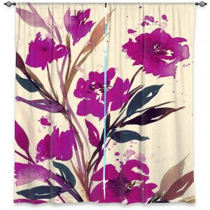 Decorative Window Treatments | Julia Di Sano - Pocketful Posies Pink