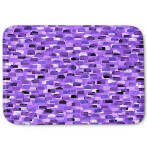Decorative Bathroom Mats | Julia Di Sano - Polka Dot Visions 12 | geometric pattern shapes circle