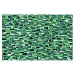 Decorative Floor Covering Mats | Julia Di Sano - Polka Dot Visions 6 | geometric pattern shapes circle