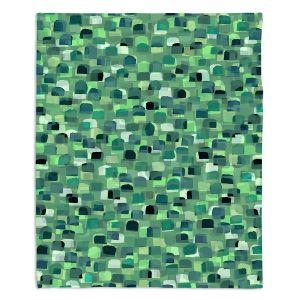 Decorative Fleece Throw Blankets | Julia Di Sano - Polka Dot Visions 6 | geometric pattern shapes circle