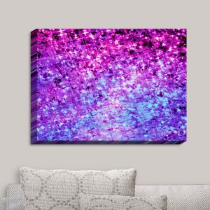 Decorative Canvas Wall Art | Julia Di Sano - Radiant Orchid Galaxy