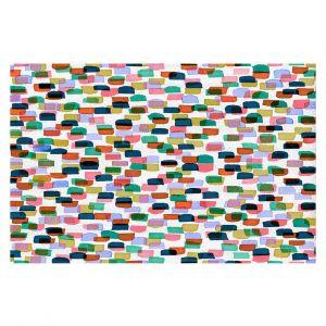 Decorative Floor Coverings | Julia Di Sano - Retro Mod Dots I