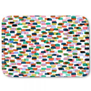 Decorative Bathroom Mats | Julia Di Sano - Retro Mod Dots I