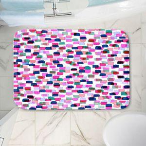 Decorative Bathroom Mats | Julia Di Sano - Retro Mod Dots II