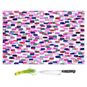 Artistic Kitchen Bar Cutting Boards | Julia Di Sano - Retro Mod Dots II