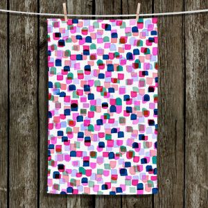 Unique Bathroom Towels | Julia Di Sano - Retro Mod Dots II