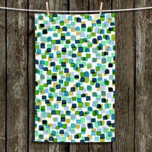 Unique Hanging Tea Towels | Julia Di Sano - Retro Mod Dots V | Mid Century Patterns Colorful