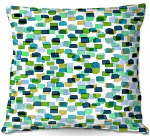 Decorative Outdoor Patio Pillow Cushion | Julia Di Sano - Retro Mod Dots V