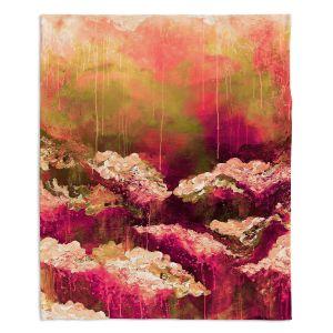 Decorative Fleece Throw Blankets   Julia Di Sano - Rose Colored Life ll