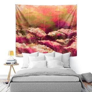 Artistic Wall Tapestry | Julia Di Sano - Rose Colored Life ll