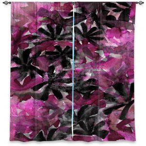 Decorative Window Treatments | Julia Di Sano - Snowy Stars 3 | Flower Pattern