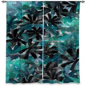 Decorative Window Treatments | Julia Di Sano - Snowy Stars 8 | Flower Pattern