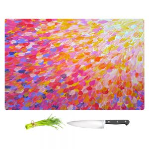Artistic Kitchen Bar Cutting Boards | Julia Di Sano - Splash Out Pink