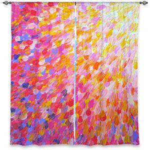 Decorative Window Treatments | Julia DiSano Splash Out Pink