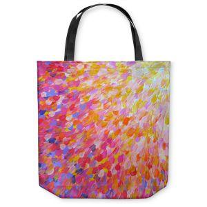Unique Shoulder Bag Tote Bags | Julia DiSano Splash Out Pink
