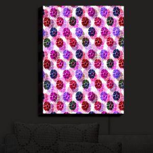 Nightlight Sconce Canvas Light | Julia Di Sano - Spots And Dots III | Patterns Circles