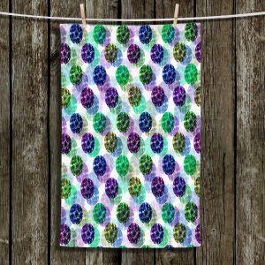 Unique Bathroom Towels | Julia Di Sano - Spots And Dots IV