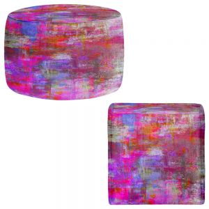 Round and Square Ottoman Foot Stools | Julia Di Sano - Sweet Talker
