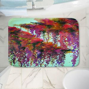Decorative Bathroom Mats | Julia Di Sano - The Perfect Storm 3 | abstract pattern watercolor