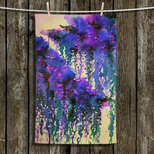Unique Hanging Tea Towels | Julia Di Sano - The Perfect Storm 4 | abstract pattern watercolor