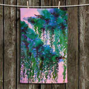 Unique Hanging Tea Towels | Julia Di Sano - The Perfect Storm 5 | abstract pattern watercolor