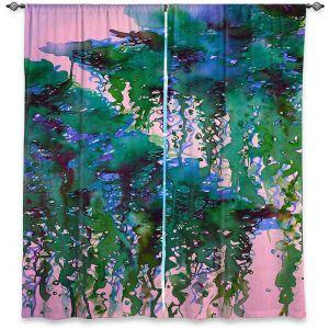 Decorative Window Treatments | Julia Di Sano - The Perfect Storm 5 | abstract pattern watercolor