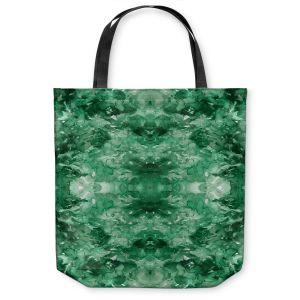 Unique Shoulder Bag Tote Bags | Julia Di Sano - Tie Dye Helix Green
