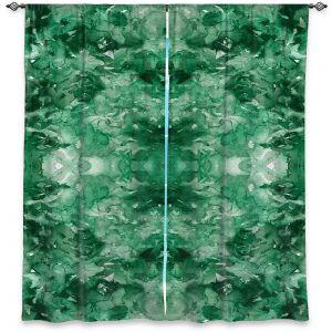Decorative Window Treatments | Julia Di Sano - Tie Dye Helix Green