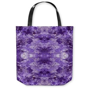 Unique Shoulder Bag Tote Bags | Julia Di Sano - Tie Dye Helix Purple