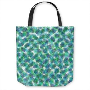 Unique Shoulder Bag Tote Bags | Julia Di Sano - Tropical Palms 2 | pattern nature tree leaves