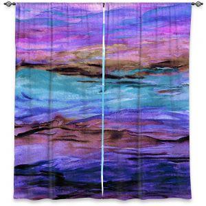 Decorative Window Treatments | Julia Di Sano - Unanchored l