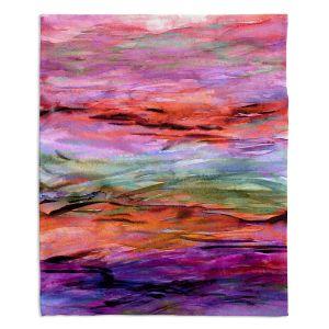Decorative Fleece Throw Blankets   Julia Di Sano - Unanchored lll