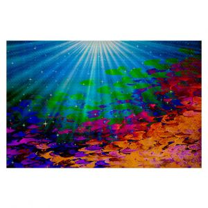 Decorative Area Rug 2 x 3 Ft from DiaNoche Designs byJulia Di Sano - Under the Sea