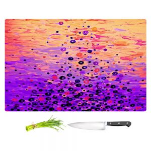 Artistic Kitchen Bar Cutting Boards | Julia Di Sano - What Goes Up V